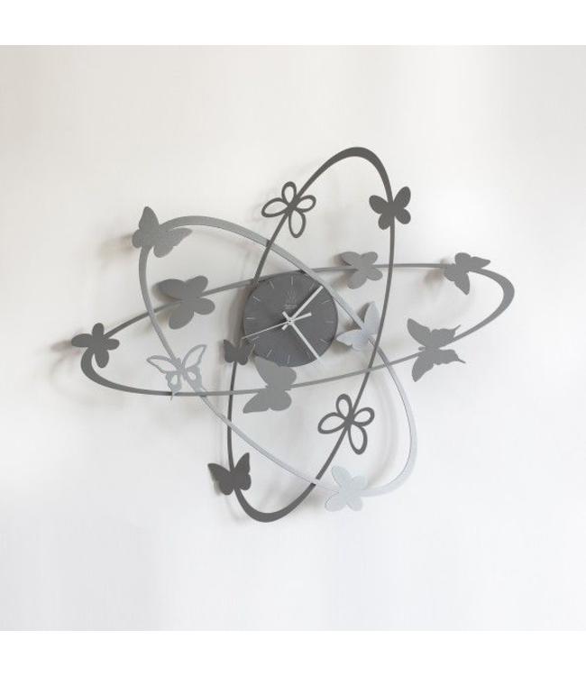 Arti & Mestieri Wandklok Multi Butterfly clock