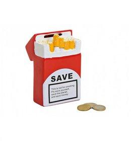Spaarpot Sigaretten Stop met Roken