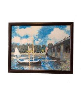 Schootkussen Monet Le pont d'Argenteuil