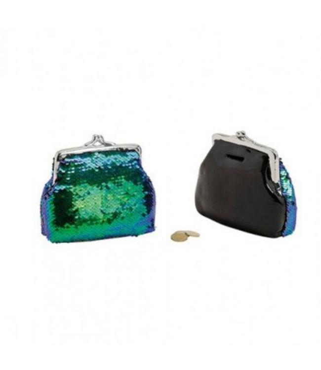 Spaarpot Glitter and Glamour portemonnee