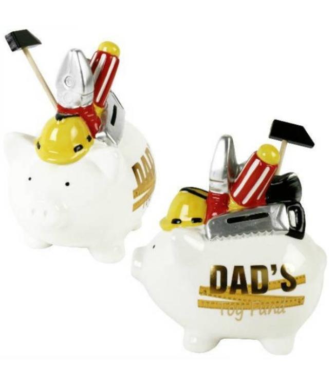 """Spaarpot """"Dad's Toy Fund"""""""