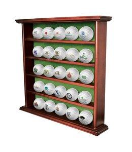 Luxe Houten Golfbalrek voor 25 golfballen