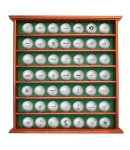 Luxe Houten Golfbalrek voor 49 golfballen
