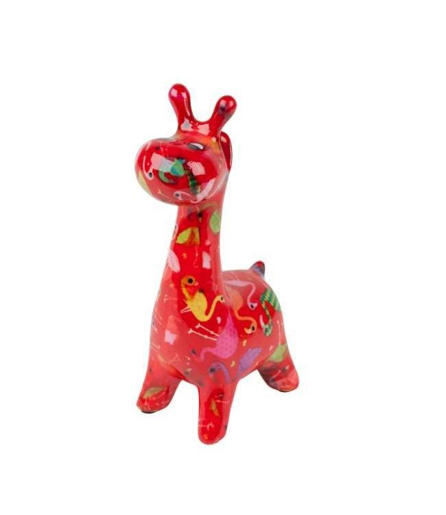Brillenhouder Giraffe Rood