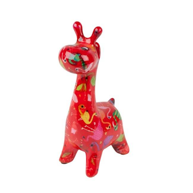 Brillenhouder Giraffe Oranje