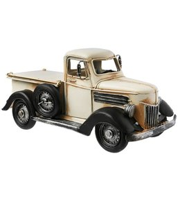 Retro Automodel en spaarpot Pickup truck