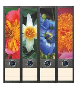 File Art Rugetiket Bloemen in de tuin