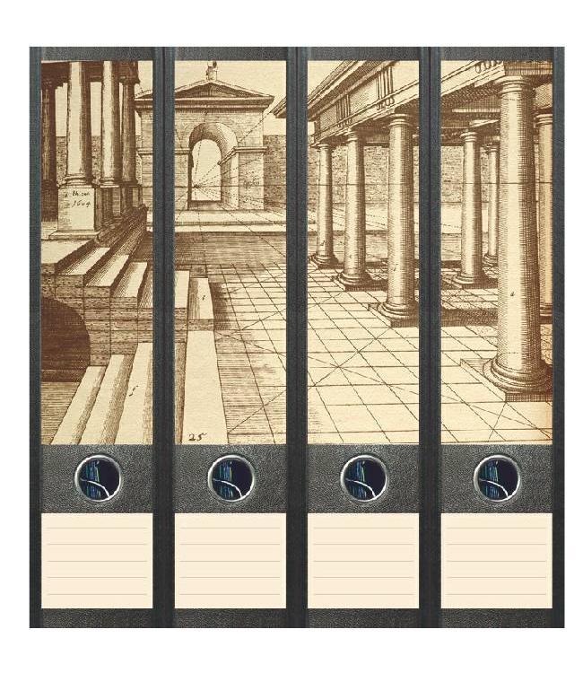 Rugetiket Klassieke vormen in perspectief