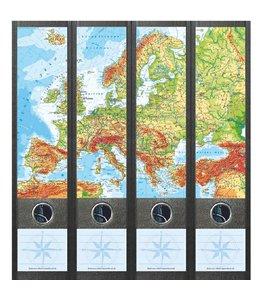 File Art Rugetiket Kaart van Europa