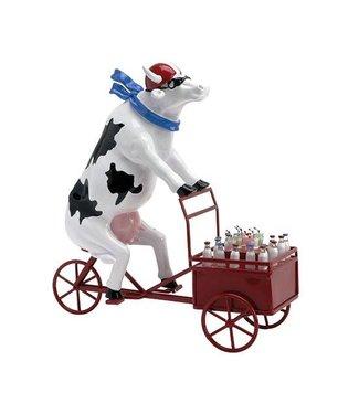Cow Parade Lait Triporteur (extra large)