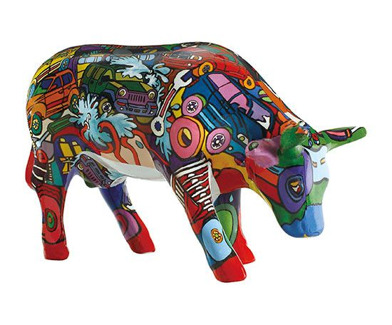 Cow Parade Brenners Mooters (medium ceramic)
