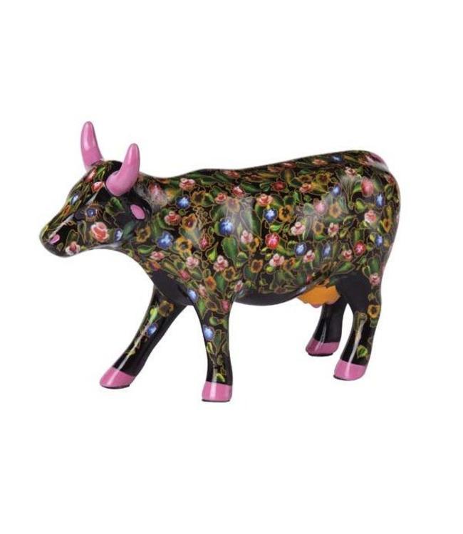 Cow Parade Flower Power Cow (medium ceramic)