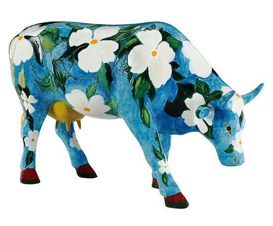 Cow Parade Cowalina Dogwood (large)