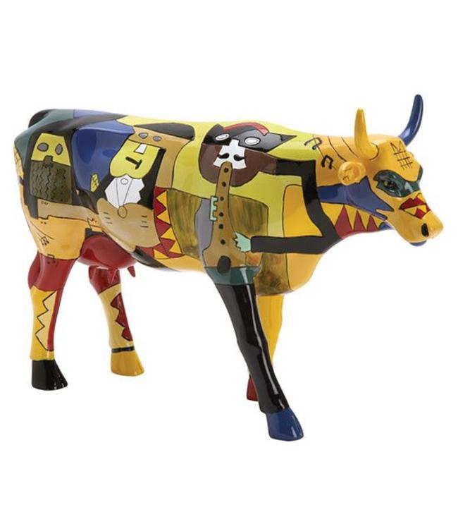 Cow Parade Picowso's Moosicians (large)