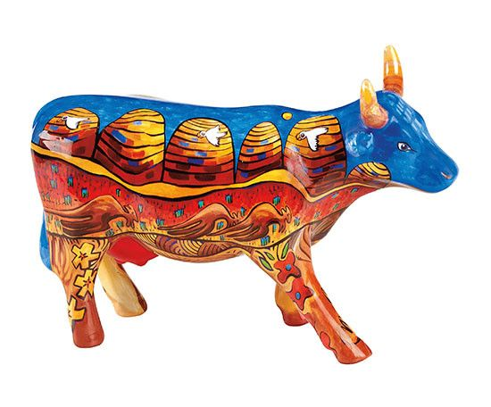 Cow Parade Our Great Kimberley (medium ceramic)