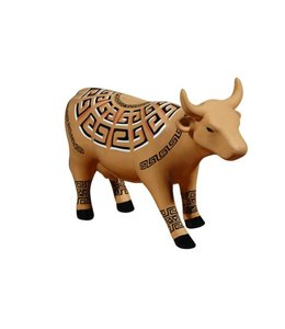 CowParade Cow Parade Marajoara (medium ceramic)