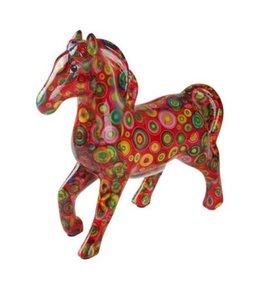 Spaarpot Paard Lucky rood