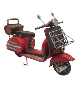 Model Retro Scooter Rood