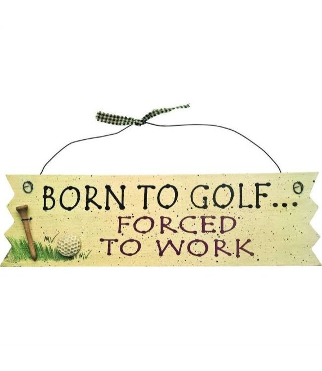 Bord: Born to Golf - Forced to work
