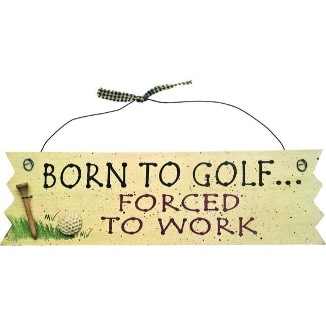 Bord: Born to Golf