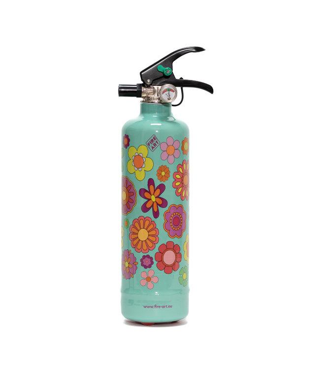 Fire Art Designblusser Flower Power