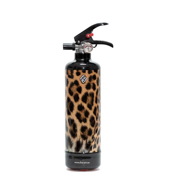 Fire Art Designblusser Leopard