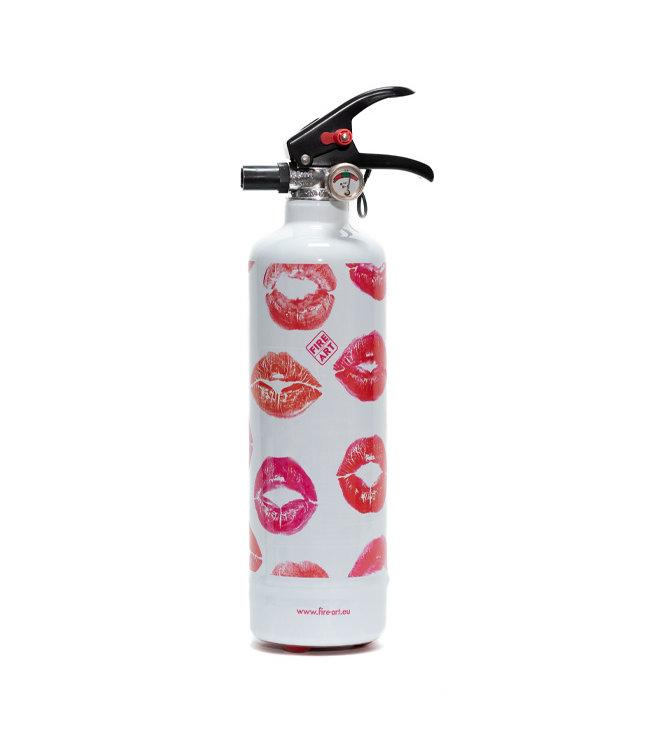 Fire Art Designblusser Kisses
