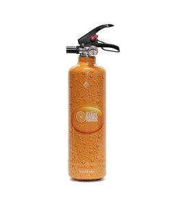 Fire Art Designblusser Orange Juice