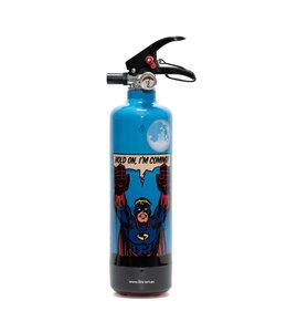 Fire Art Designblusser Superman