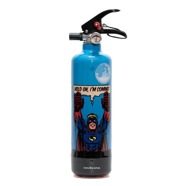Designblusser Superman, barbecue fun, Fire Art