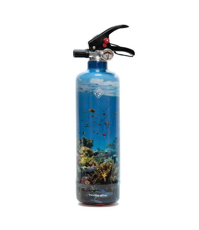 Fire Art Designblusser Tropical Fishes