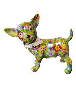 Spaarpot Chihuahua Groen