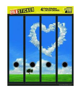 FileSticker FileSticker - Lucht Met Hart