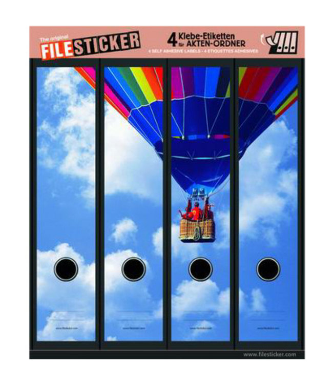 FileSticker - Luchtballon