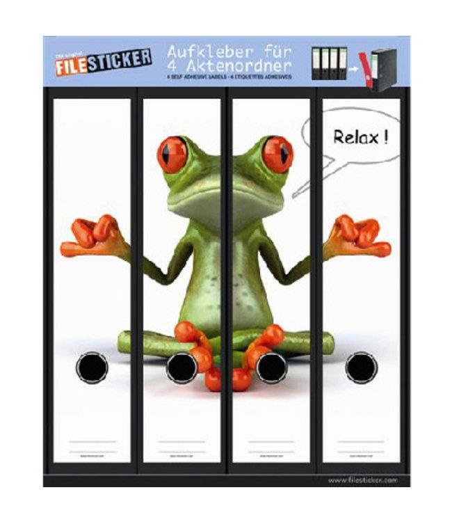 FileSticker FileSticker - Relax Kikker
