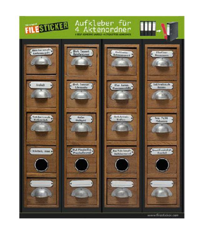 FileSticker - Apothekerkast