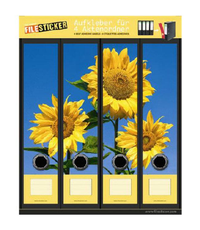 FileSticker FileSticker - Zonnebloemen