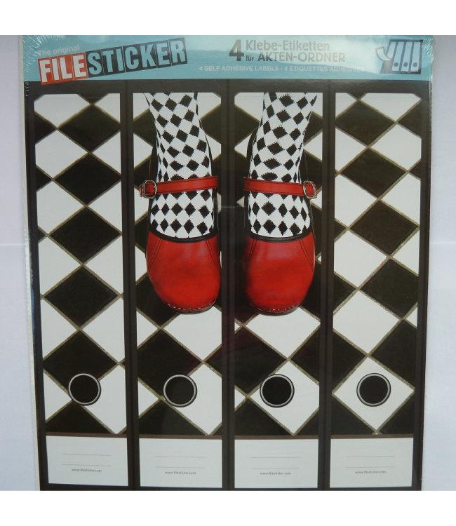FileSticker FileSticker - Rode Schoenen