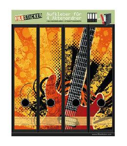 FileSticker FileSticker - Grunge Rock Gitaar