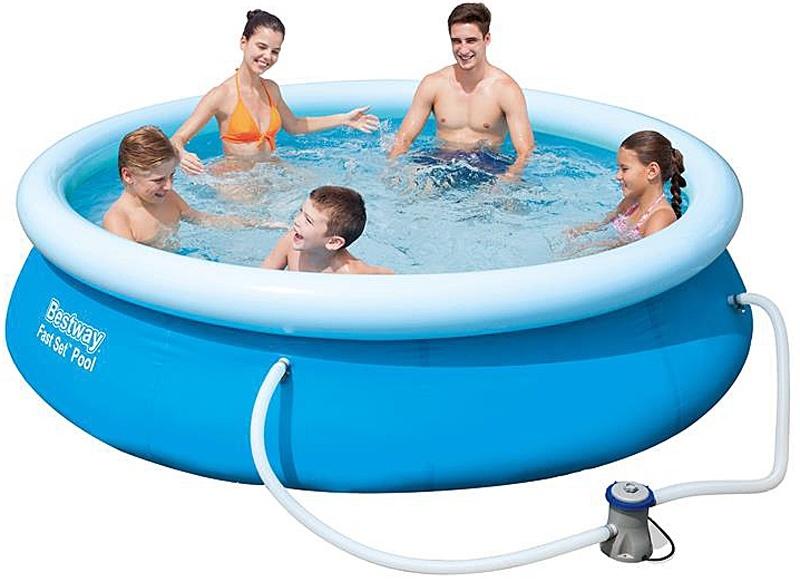 Zwembad fast set met filterpomp