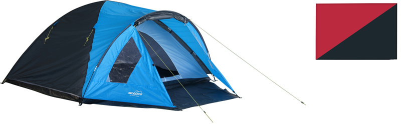 4-persoons Tents Sweetwater rood