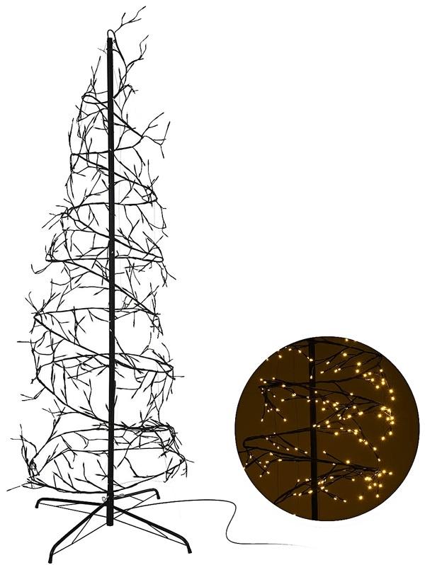 Kerstboom spiraal 240cm