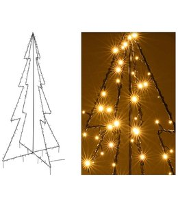 DecorativeLighting Verlichte moderne kerstboom - 180cm  - 240 LED