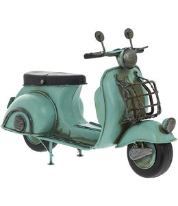 Lesser and Pavey Vintage Scooter blauw