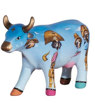 CowParade  Cowgaceiros (Medium Ceramic)