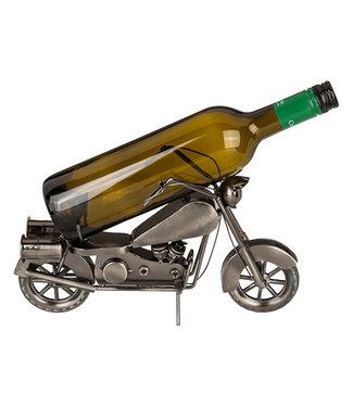 Wijnfleshouder Motorfiets