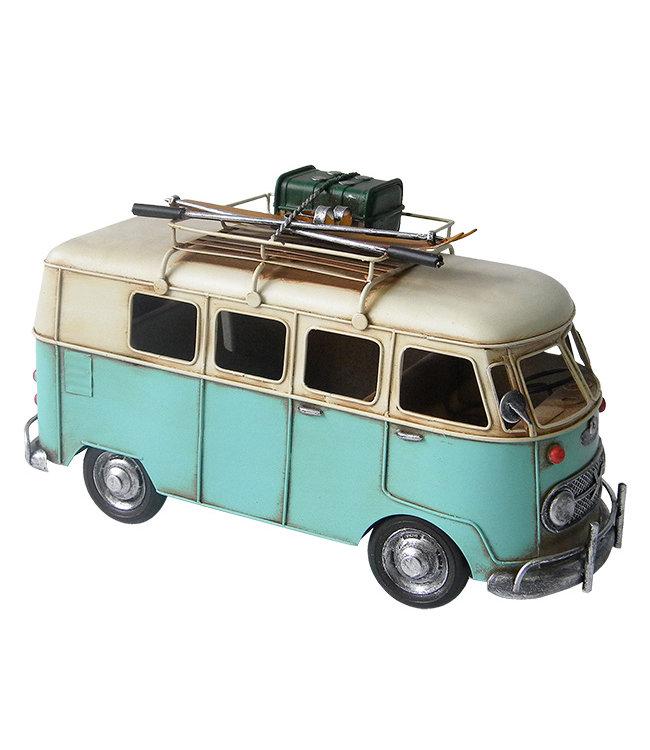 Model Retro Kampeer Bus met Imperial
