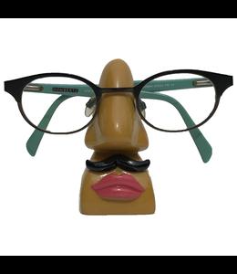 Brillenhouder Met Snor