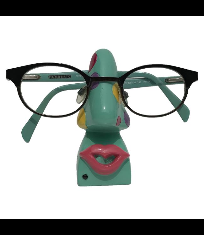 Brillenhouder Groen Met Stippen