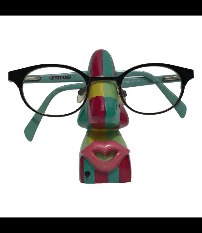 Brillenhouder Geblokt